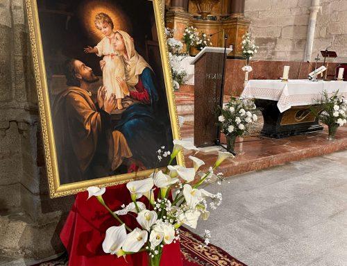 Concluye la novena a la Sagrada Familia en las Agustinas