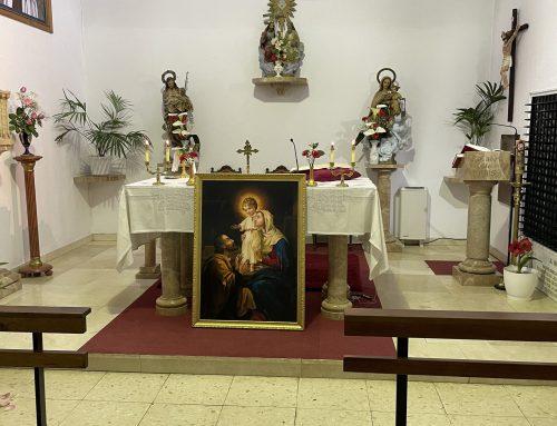 Celebrando San José obrero en las Carmelitas